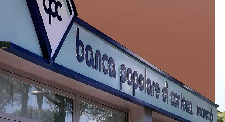 Insegna arredamento banche